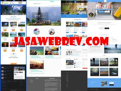 Website Tour Travel Murah di Bali